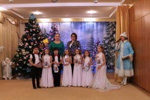 Поздравление воспитанников ДОУ «С Новым Годом»